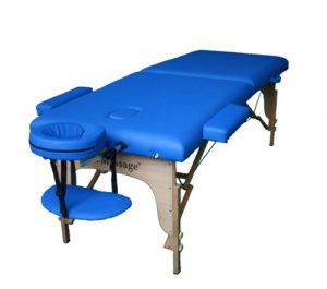 Blue BestMassage Table, cheap massage tables