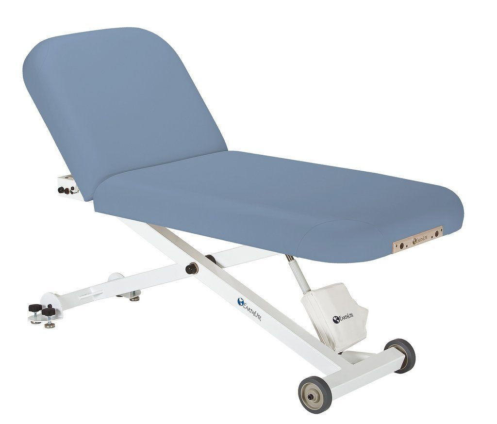 Earthlite Ellora Tilt Electric Lift Massage Table In Mountain Mist