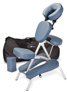 Earthlite Vortex Massage Chair in Blue