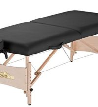 Stronglite Standard Massage Table Package, Black