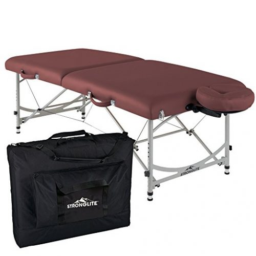 stronglite portable massage table u2013 why this folding table is