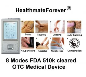 TENS unit, Forever Pain Relief Digital Electrotherapy Electronic Pulse Massager Functions