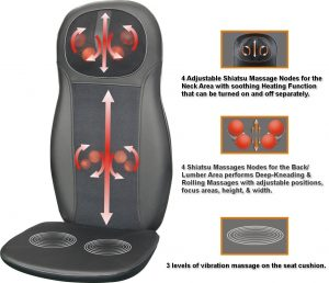 5 Best Shiatsu Massage Machines Soothe Daily Pain Amp So