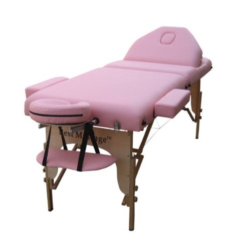 Pink massage table create a calming oasis for results massage table genie - How much is a massage table ...