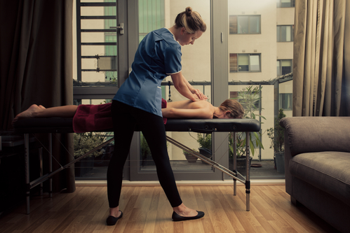 Sierra Lightweight Professional Massage Table For Mobile Massages Anywhere